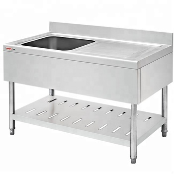 Restaurant Best Brand Kitchen Stainless Steel Sink Work Table In Malaysia Commercial Kitchen Sink Bench With Drainboard Buy Restaurant Best Brand