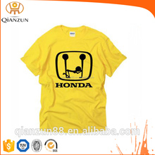 Fashion and free size printed cotton men's leisure T shirt
