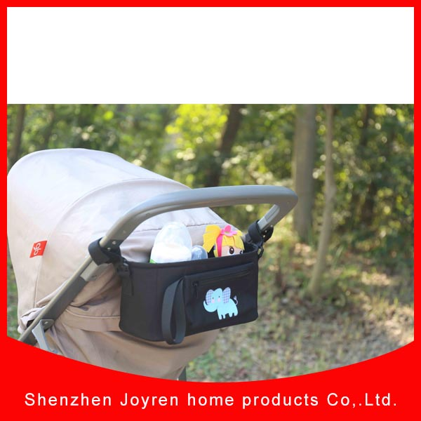 2016 wholesale baby stroller organizer with detachable pouch