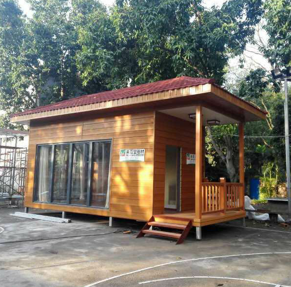 Prefabricated steel structure homes ,workshop,villa wood tiny house