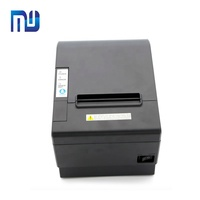 80mm Desktop POS thermal receipt printer with Auto Cutter High speed printing