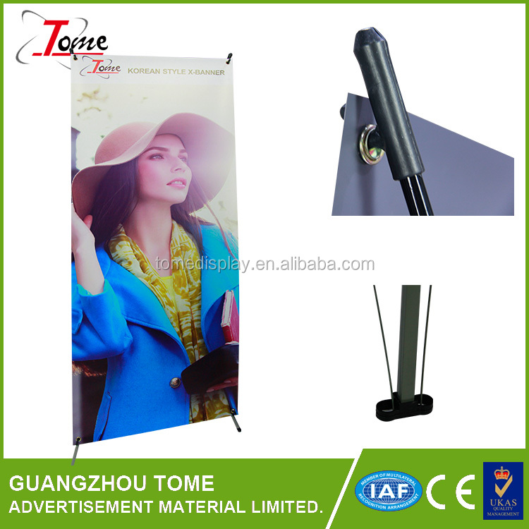 Standard Retractable Table Top Roll up Banner Stand With low price superior quality indoor and outdoor advertisement banner