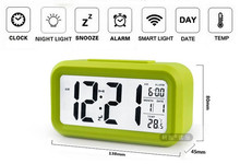 China Wholesales LED Alarm Clock, Digital Alarm Clock, Cartoon Clock for Kids