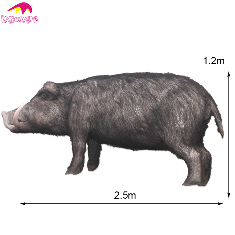 KANO-062 Theme Decoration Lifelike Animatronics Pig