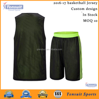 latest basketball jersey design 2016 youth custom design basketball uniform sublimated reversible basketball wear
