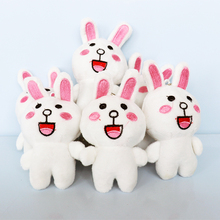Free sample cheap custom plush toys cute rabbit toys for claw machine
