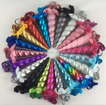 c3792de0a131b0 Fabriek regenboog Baby Meisjes Eenhoorn hoofdband Verjaardagsfeestje  Prinses Eenhoorn hoorn haarband