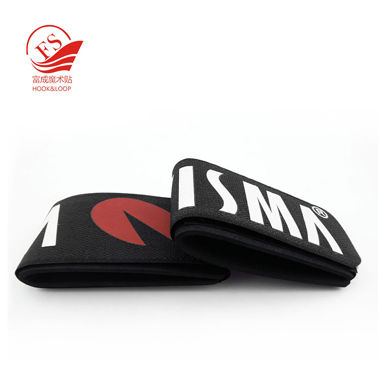 Custom logo 50*480mm Alpine Rubber OR EVA pad Deluxe ski strap