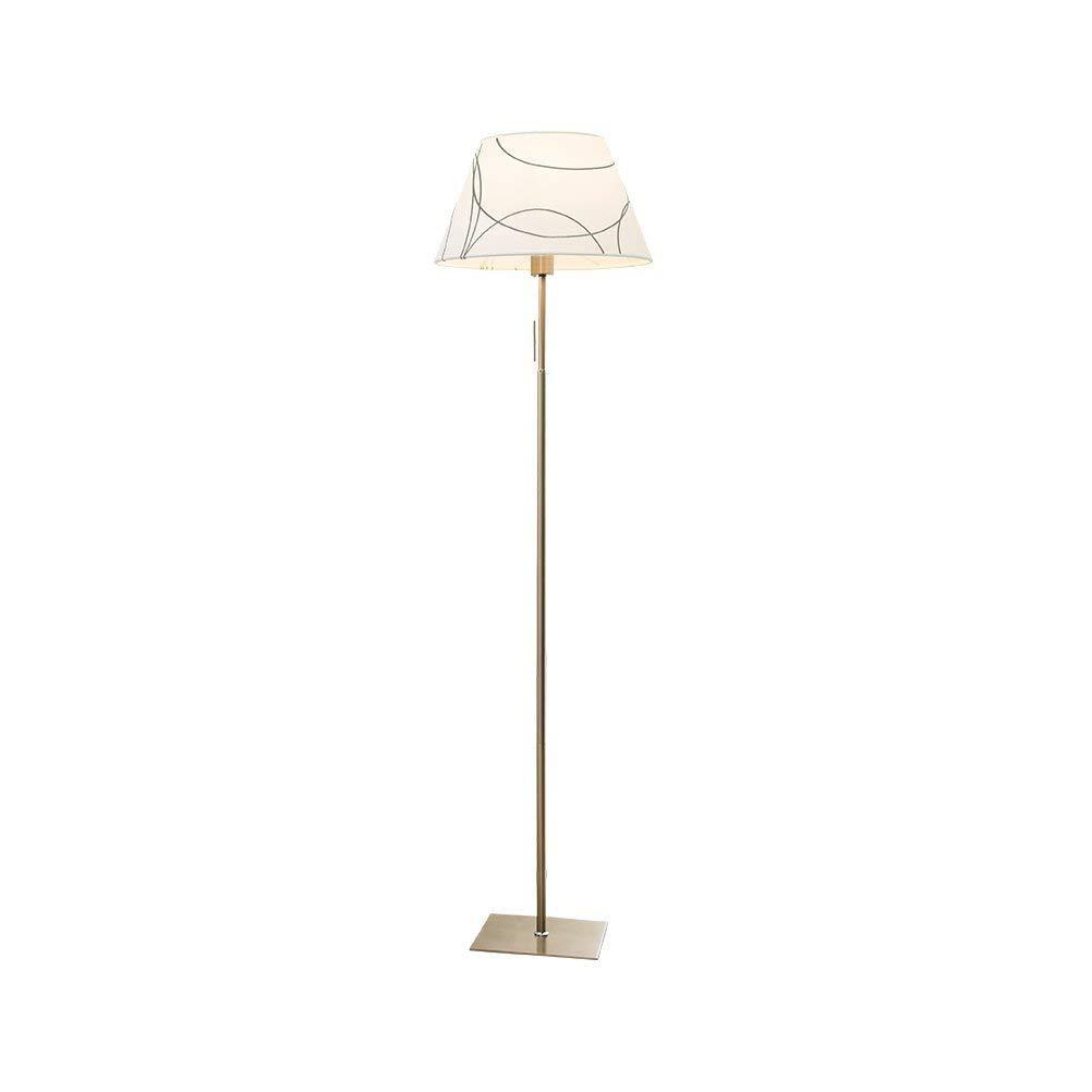 WAN SAN QIAN- Floor Lamp Classy Shade Lamp- Tall Pole Standing, Industrial Uplight Lamp For Living Room, Family Room, Den Office, Or Bedroom Floor Lamp