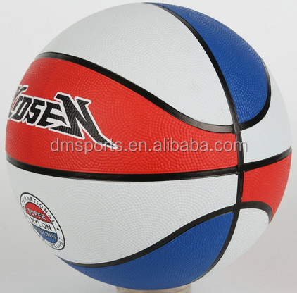 Rubber basketball,colorful printing,custinuze your own logo basketball size 7