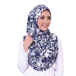 OEM Custom Logo multiple Colour wholesale malaysia woven polyester women hot muslim hijab scarf women hijab