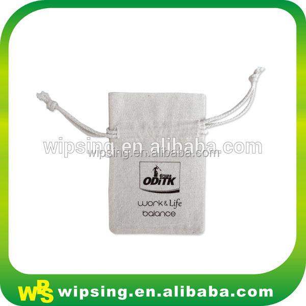 Katoenen gepersonaliseerde geschenk zakje met logo tassen