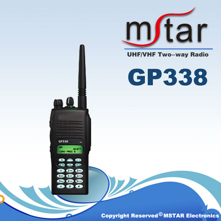 GP338 wifi walkie-talkie for the police,hotel,constuction site,business
