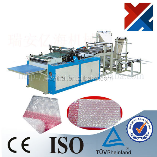 YH-BT Series PE Air Cushion Bubble Film Bag Making Machine