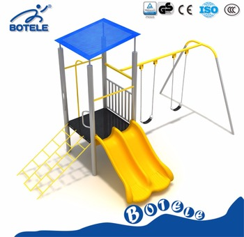 Outdoor Playground Equipment, Plastic Childrenu0027s Slide Swing, Outdoor Game  Sports Facilities For Children