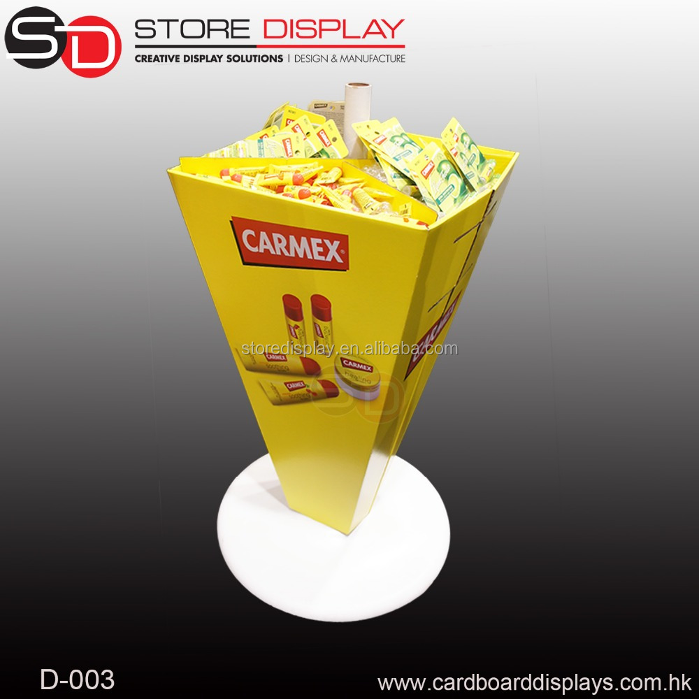 Candy <strong>Display</strong> Stand and Racks / Cardboard dumpbin <strong>Display</strong> for Promotion