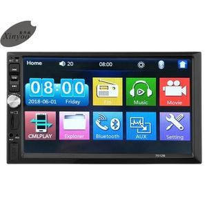 Xinyoo Factory Hot Sale Low price Universal Two Din 7'' Car Radio dvd player and Car Radio MP5 Player