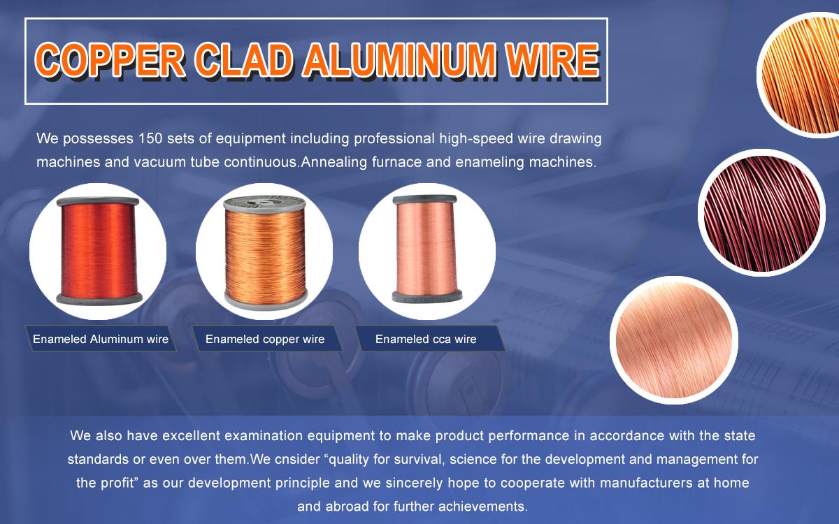 Suzhou Wujiang Shenzhou Bimetallic Cable Co Ltd Enamelled Wire Copper Or Aluminum Wiring Cca