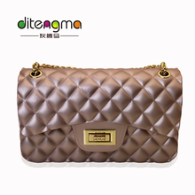 Hot Sale Plastics 4 Color Cheap Bags Women Handbags Ladies Jelly Bag 2017 From China