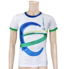 Goedkope vlakte <span class=keywords><strong>wit</strong></span> 100% polyester custom sublimatie t-shirts <span class=keywords><strong>bulk</strong></span>