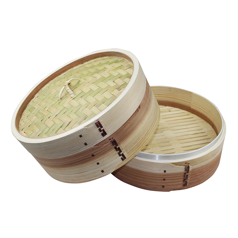 Manufacture direct supply Bamboo Mini Dim sum Steamer Cooker Basket in steamers for kitchen