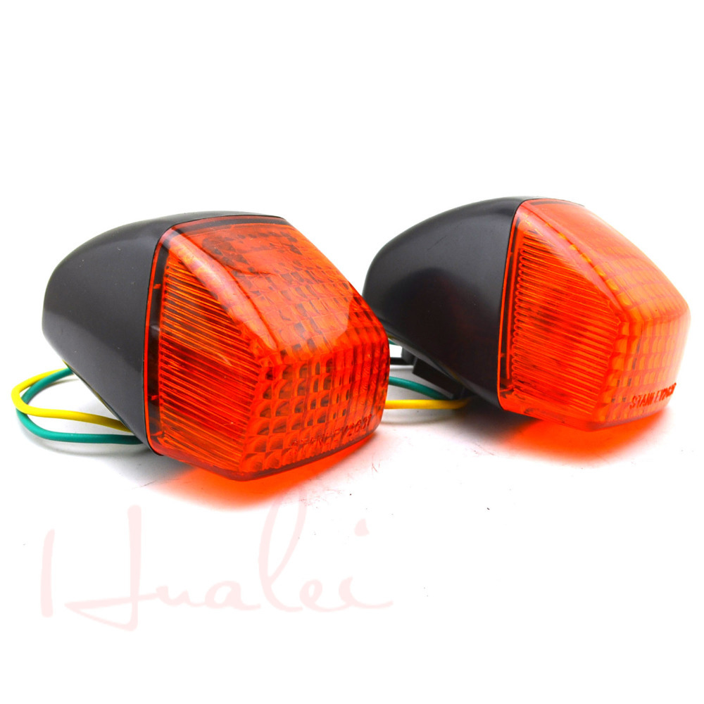 Motorcycle Turn Signals Light For Honda VFR 400 NC30 RVF400 Turn Indicator Signal Light Blinker 2 pcs/pair