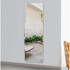Hot Sale 2.5mm-8mm Big Bath Magic Frameless Shape Glass Prices Bathroom Wall Mirrors