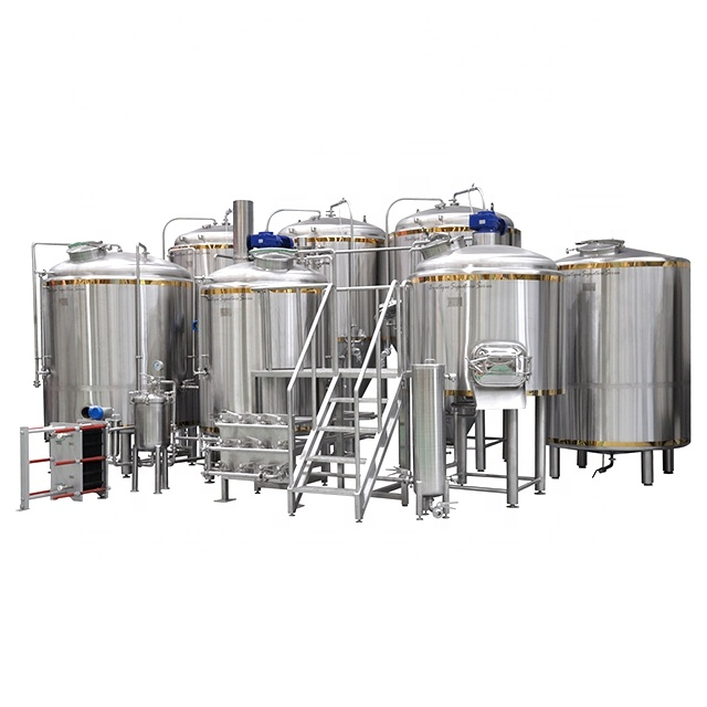 100L om 1000L ale microbrewery bier fabriek made in china