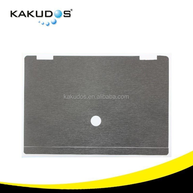 Top cap Grey Brushed Laptop palm rest skin for hp computer 8540p