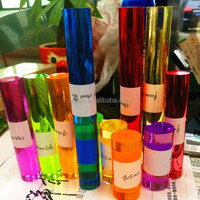 Colored or transparent round acrylic rod