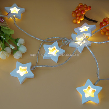 10l warm white led christmas wall hanging decorations light