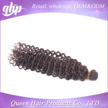 QHP 2015 popular style no acid more wave indian hair extension