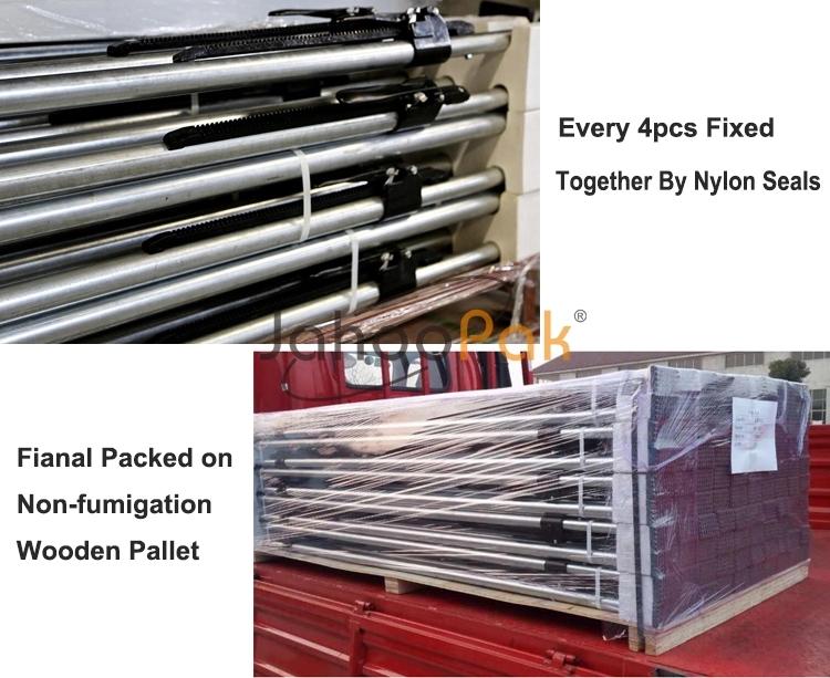 調整可能なトラックトレーラー貨物負荷 42 ミリメートルアルミチューブ直径貨物バー