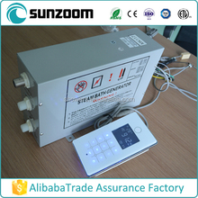 For commercial 380V 18kw GS08-117 White panel steam generating machine