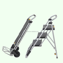 Convenient steel ladder domestic portable stair trolley
