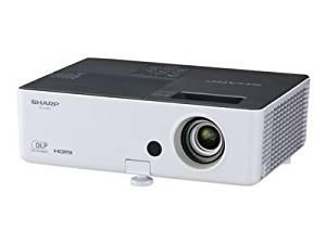 Sharp PG-LX3500 3D Ready DLP Projector - 720p - HDTV - 4:3 - F/2.5 - 2.7 - PAL, SECAM, NTSC - 1024 x 768 - XGA - 2,000:1 - 3500 lm - HDMI - VGA In - Ethernet - 499 W