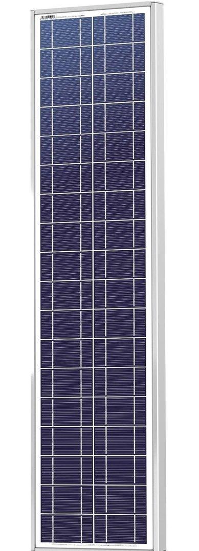 Polycrystalline Solar Panels 70W 12V Skinny