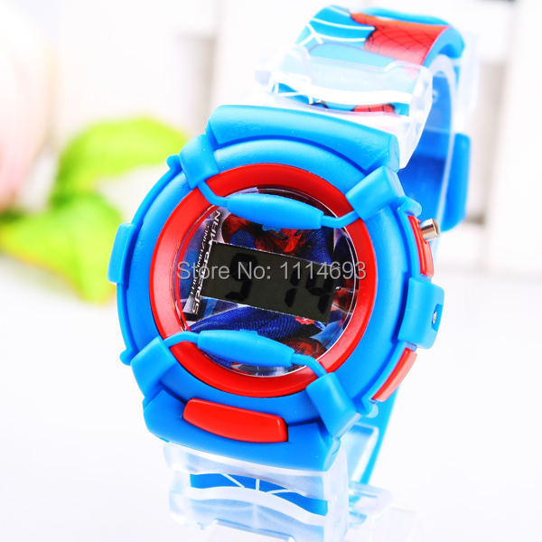 c2f41921ba4 Get Quotations · Children cartoon Jelly Watch Cute Silicone watch kids LED  digital watches 2014 lovely new arrival dropship