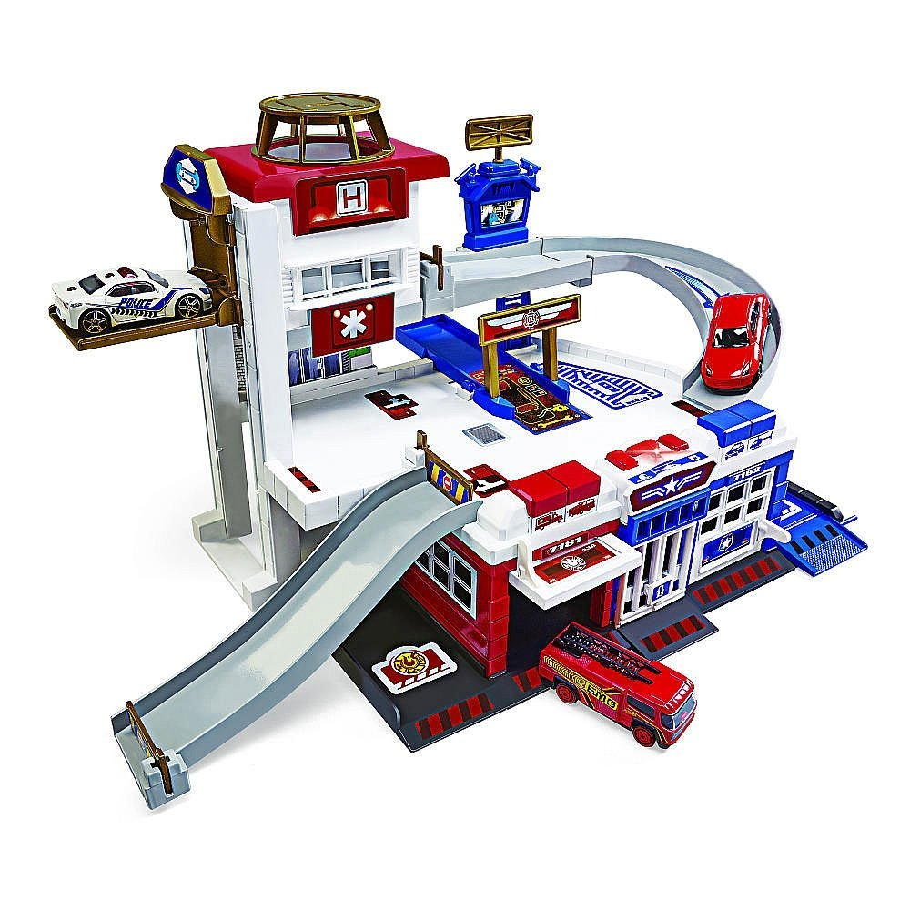 Buy Fast Lane Rescue Center Playset Toys R Us Exclusive