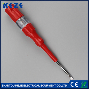 China Manufacture Neon Light Voltage Tester Electrical Test Pen