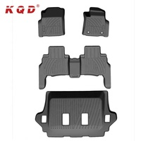 Top Selling Full Set Anti Slip Custom TPO Car Foot Floor Mat For FORTUNER 2016