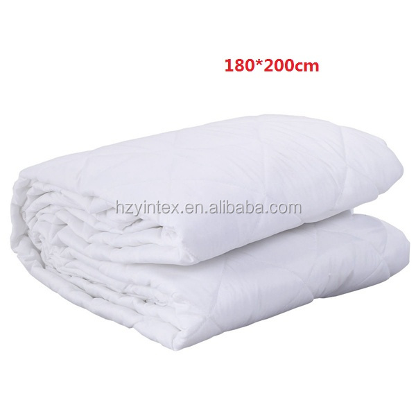 Latest design full size cotton 240gsm 100% polyester fabric with 0.025mm TPU membrane mattress cover cheap mattress set