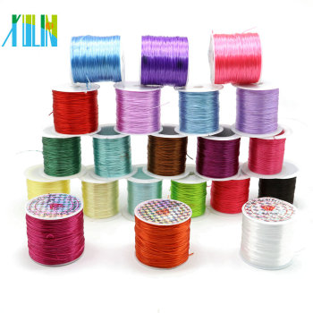 Stretch Beading Tpu Cord Elastic Rope For Bracelet Flat Milk Color String Diy
