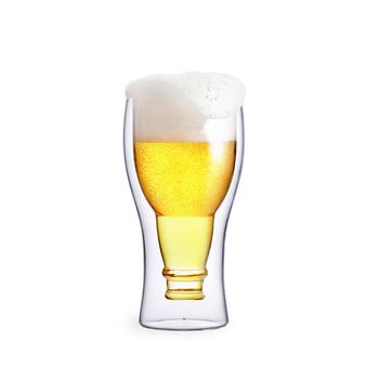Super Doppellagige Biergläser Mit Großem Fassungsvermögen,Ausgefallene JW09