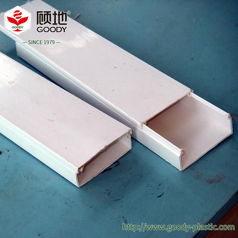 Hot Selling Attractive Price High Quality PVC electrical trunking / PVC electrical pipe