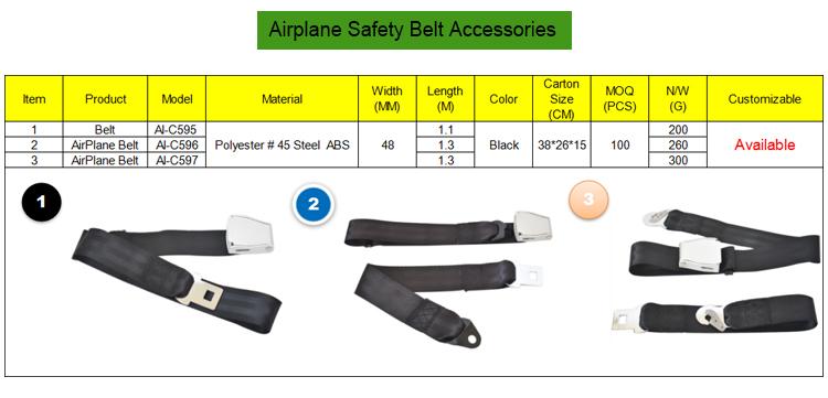 Preferentiële 100% polyester autofriend veiligheidsgordel