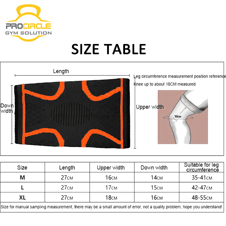 Knee Support Compression Protective Knee Sleeve