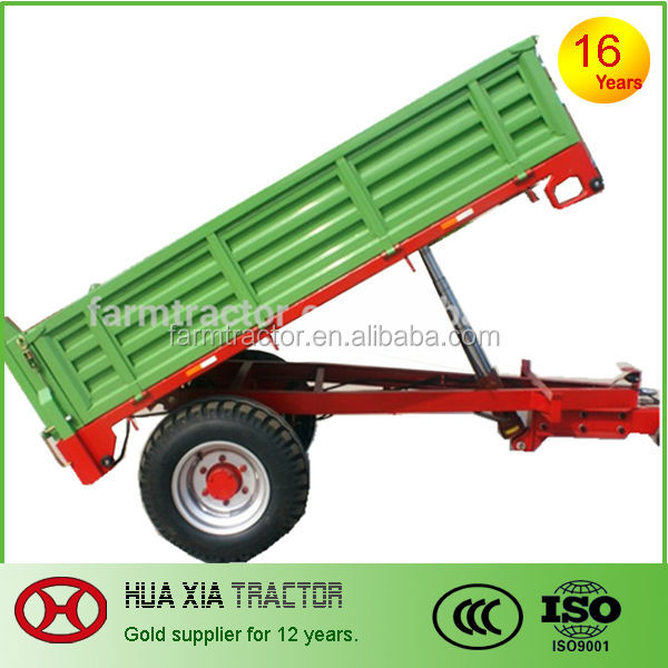 1.5 ton agricultural machinery farm trailer for garden tractor
