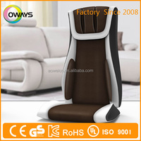 Wholesale low price electric back massage cushion pad/multifunction back car massage cushion