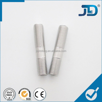 stainless steel various dia and size double thread screw